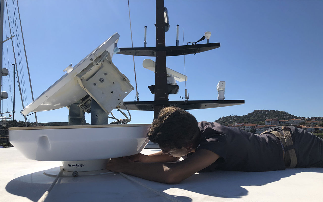 antenne satellitari TV e VSAT in Sardegna